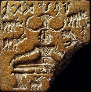 Indus god Pashupati