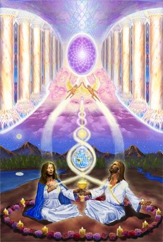 """Hieros Gamos"" & Sacred Marriage: The New Relationship. ""Antahkarana"" by Amoraea Dreamseed"