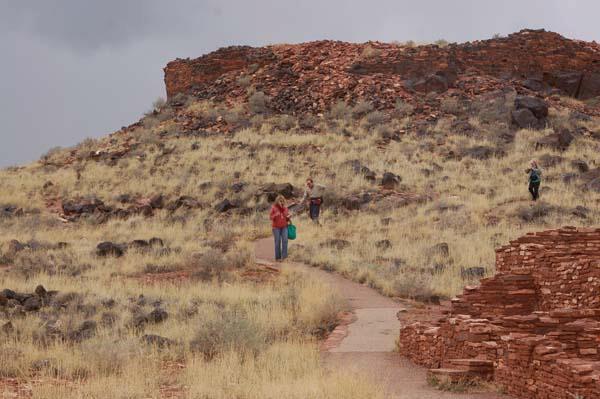 Hillary Raimo coming off the mountain Arizona 2013 photo by Lynda Yraceburu