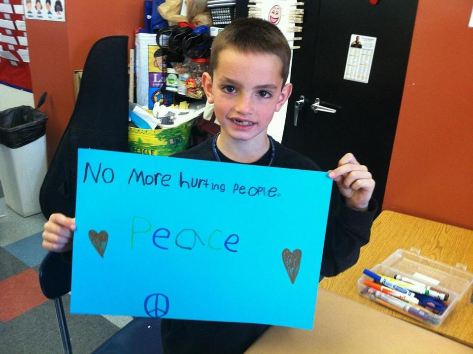 Martin Richard, the 8-year-old boy killed in the Marathon bombing,