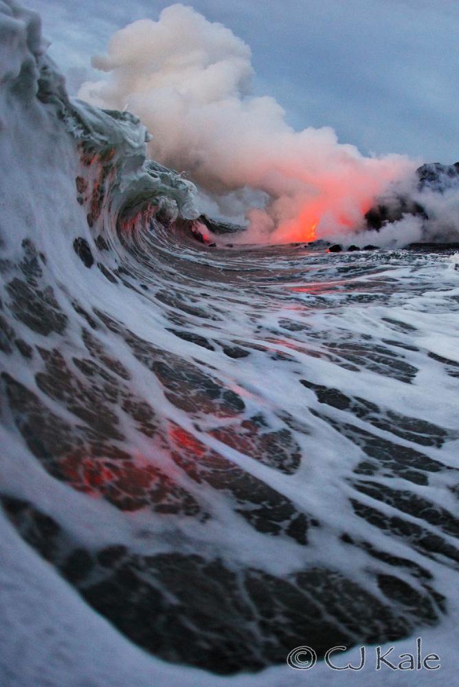 Lava tube, Big Island Hawaii