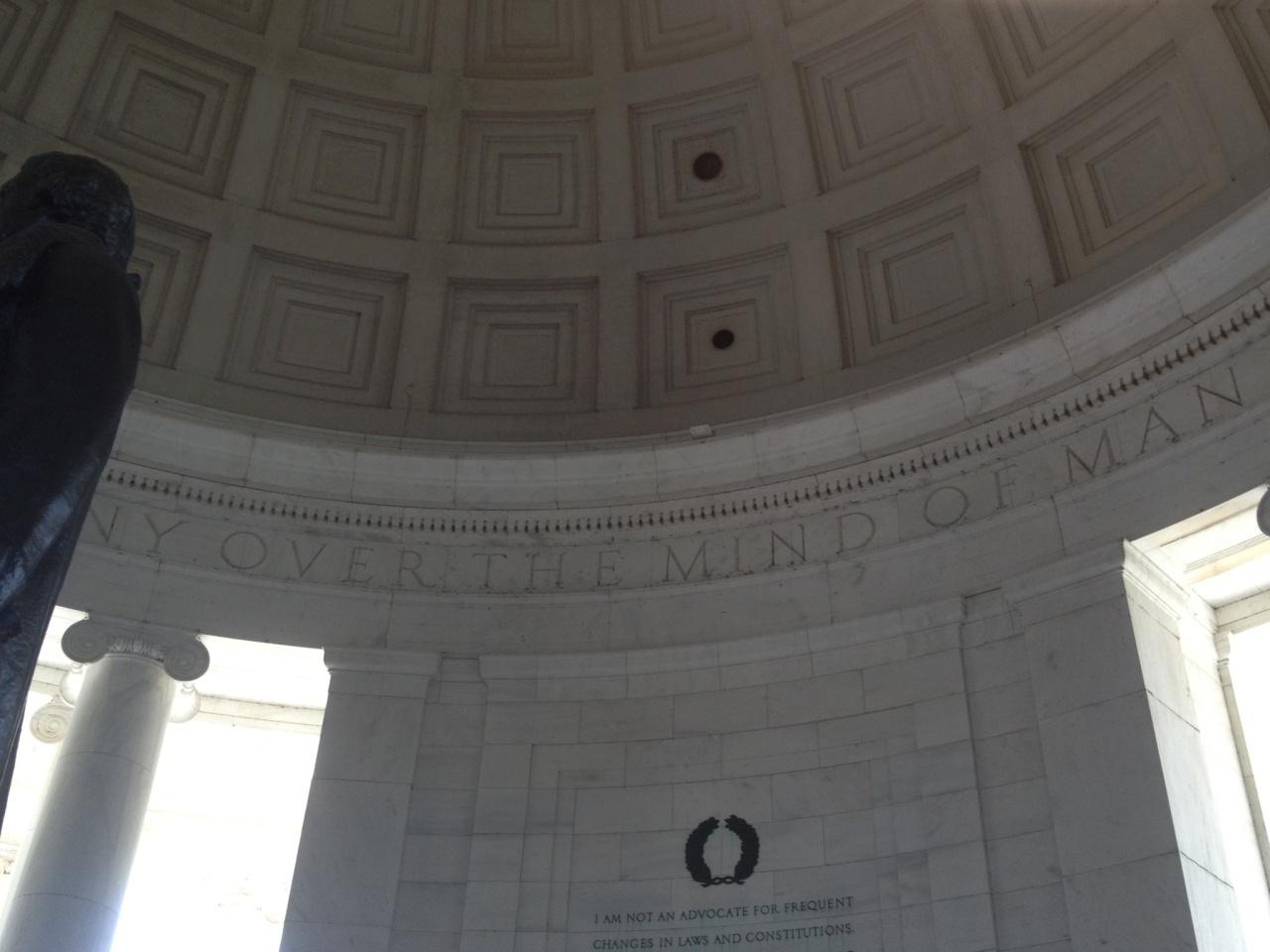 Thomas Jefferson Memorial photo by Hillary Raimo