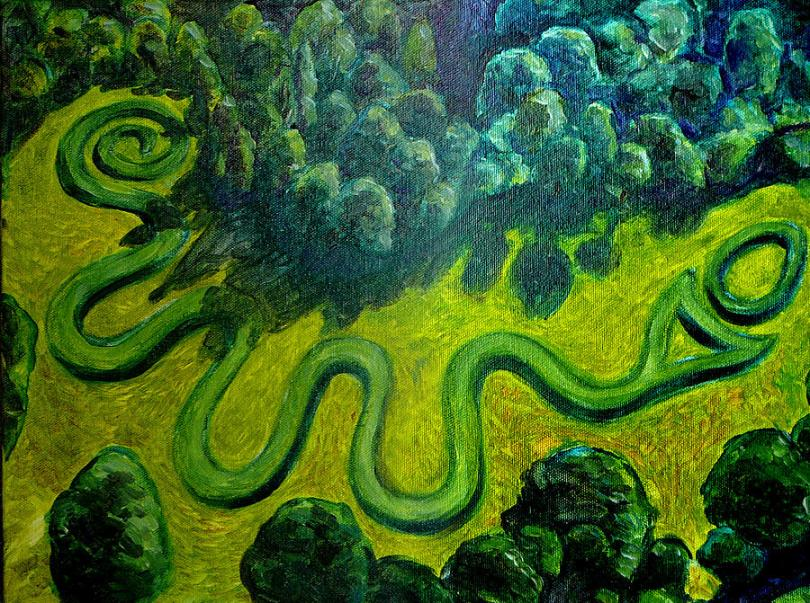 Ohio Serpent mound Human Time Traveling