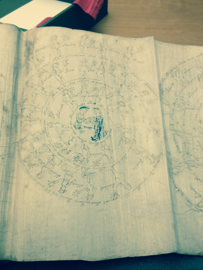 The Voynich Manuscript photo by Hillary Raimo Yale University 11/19/13
