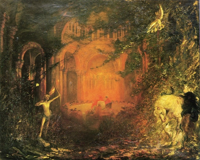 Pinckney Marcius-Simons, Parsifal and the Knights of the Holy Grail: Scenes from Act I