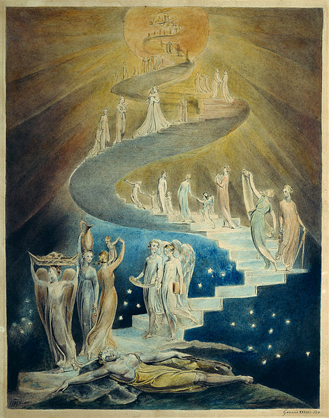 Jacob's Dream by William Blake (c. 1805, British Museum, London)[1
