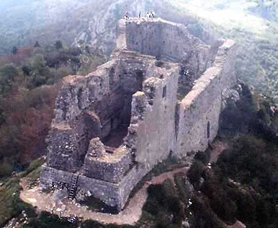 Montségur - last stronghold of the Cathars