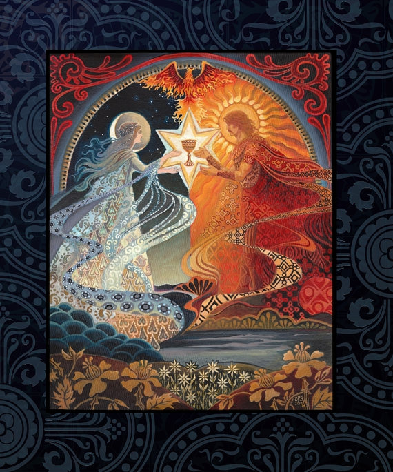 alchemical marriage hieros gamos eclipse solar eclipse lunar eclipse