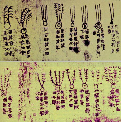 The Mawangdui silk, depicted 29 different cometary forms and the various diseases and disasters associated with them. Compiled, beginning around 1500 BC.
