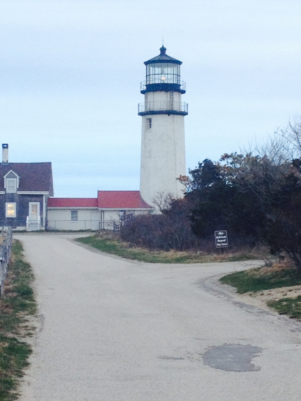 Philipe's lighthouse. Calling the holy father home. Prayers & offerings. photo by Hillary Raimo 4/28/14